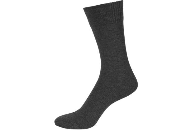 """nur der Herren \""""Bambus Socke\"""" anthrazitmel. 39-42"""