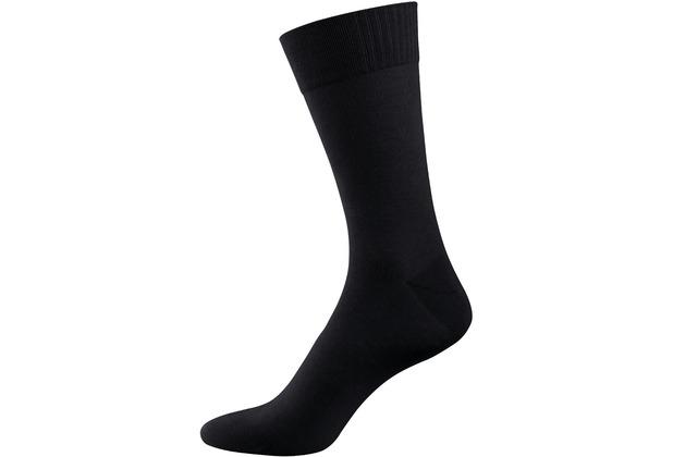 """nur der Herren \""""Bambus Socke\"""" schwarz 39-42"""