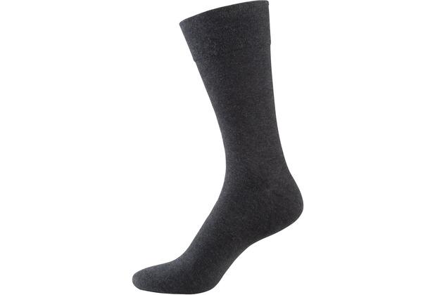 """nur der Herren \""""98% Baumwolle Komfort Socke\"""" anthrazitmel. 39-42"""