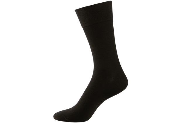 """nur der Herren \""""Cotton maxx Komfort Socke\"""" schwarz 39-42"""