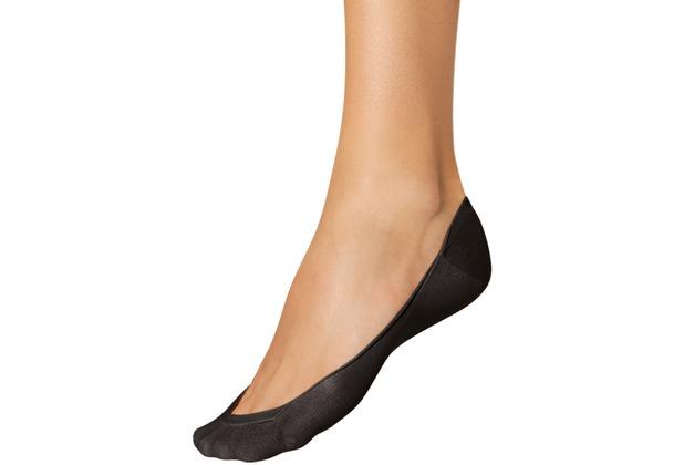 nur die Ballerina Füßli Baumwolle 094 schwarz 35-38