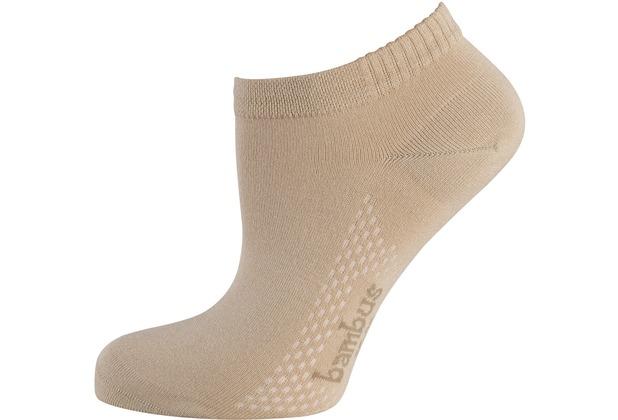 """nur die Damen \""""Air Comfort Sneaker Socke\"""" beige 35-38"""