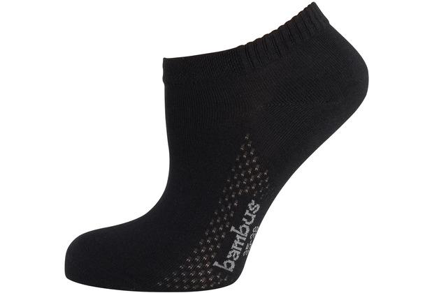 """nur die Damen \""""Air Comfort Sneaker Socke\"""" schwarz 35-38"""