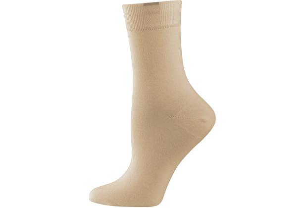 """nur die Damen \""""Passt Perfekt Socken 3er\"""" beige 35-38"""