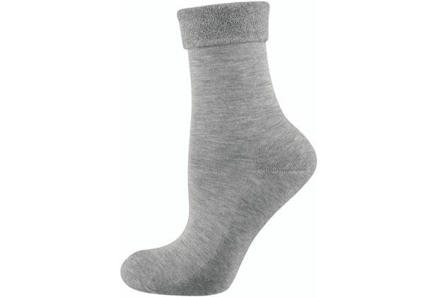 """nur die Damen \""""Pflege & Komfort Relax Socke\"""" hellgraumel. 35-38"""