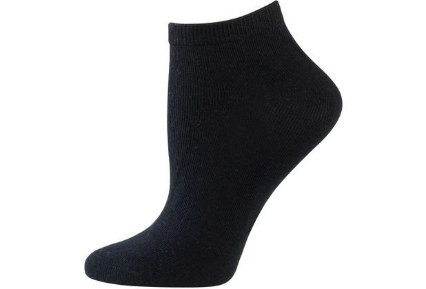 nur die Damen Sneaker Socken Classic 5er schwarz 35-38
