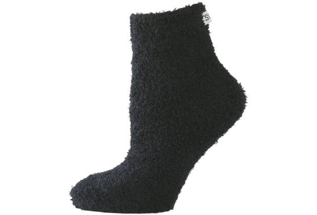 nur die Damen Wohlfühl Socke schwarz 35-38