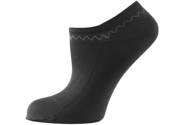 nur die Schuhsöckchen schwarz 35-38
