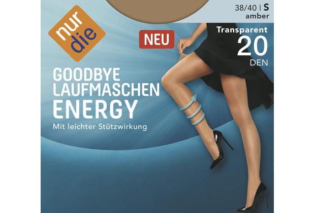 nur die Goodbye Laufmaschen Energy amber 38-40=S
