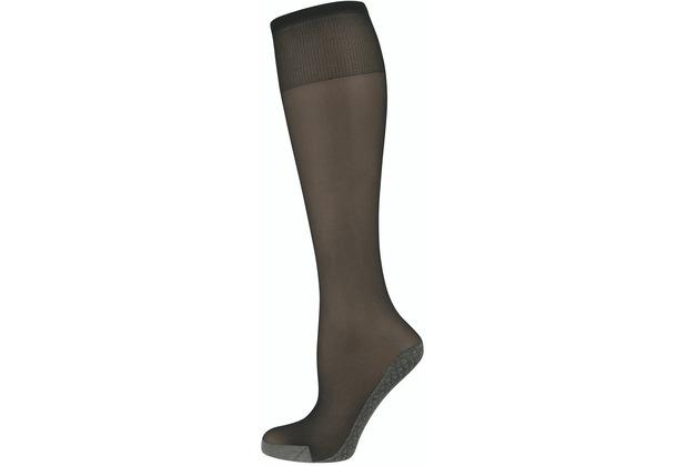 nur die Knie Baumwollsohle schwarz 35-38
