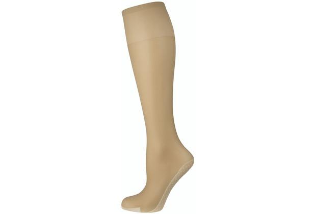 nur die Knie Baumwollsohle-116 mandel 35-38