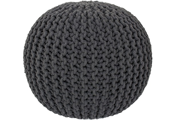 Obsession  Cool Pouf 777 anthracite 43 x 40 cm