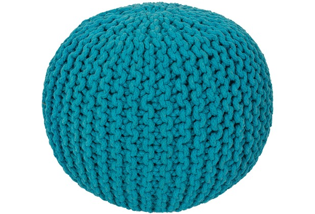 Obsession  Cool Pouf 777 turquoise 43 x 40 cm