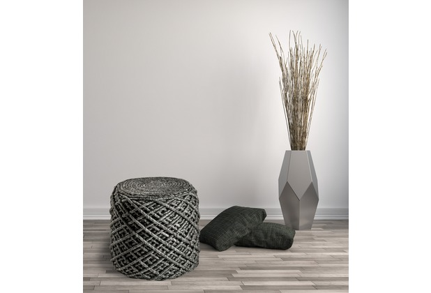 Obsession  Pouf Royal 888 ivory 40 x 40 cm
