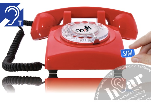 Opis 60s mobile hEar, rot