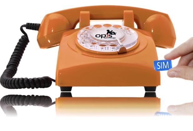 Opis 60s mobile, orange