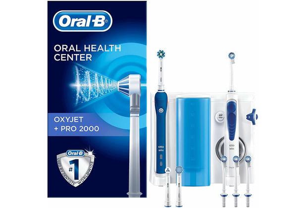 Oral-B OxyJet + Pro 2000 Mundpflegecenter
