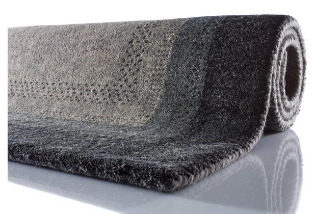 Zaba Gabbeh-Teppich Dallas anthrazit 40 cm x 60 cm