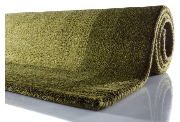 Zaba Gabbeh-Teppich Dallas grün 60 cm x 90 cm