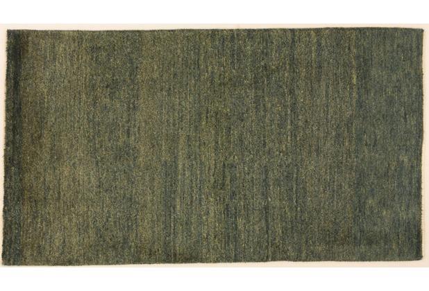 Oriental Collection Gabbeh-Teppich, grün 76000, 75 x 133 cm