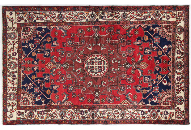 Oriental Collection Hamadan Teppich 135 x 210 stark gemustert