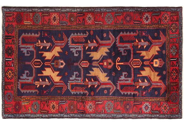 Oriental Collection Hamadan Teppich Khamseh 135 x 220 cm