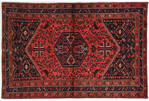 Oriental Collection Hamadan Teppich Khamseh 140 x 210 cm