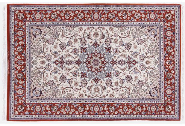 Oriental Collection Isfahan Teppich auf Seide 112 x 170 cm