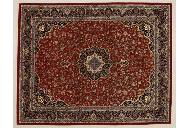 Oriental Collection Kashan m.Seide rot 76020, 200 x 250 cm
