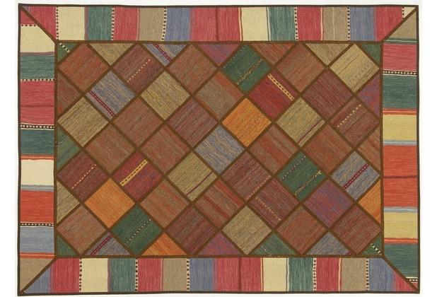 Oriental Collection Kelim Patchwork 150 x 208 cm handgewebt