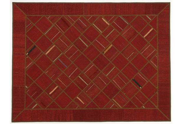 Oriental Collection Kelim Patchwork 177 x 235 cm handgewebt