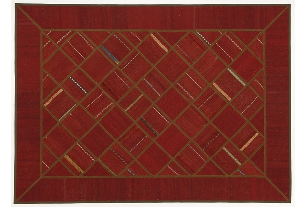Oriental Collection Kelim Patchwork 150 x 207 cm handgewebt