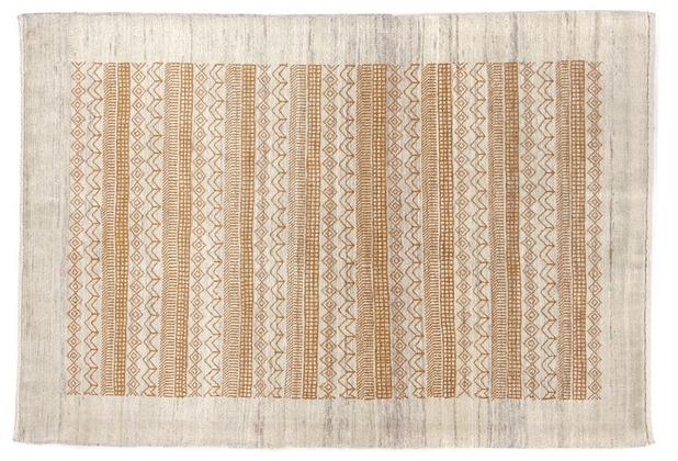 Oriental Collection Gabbeh-Teppich Loribaft 105 cm x 152 cm beige