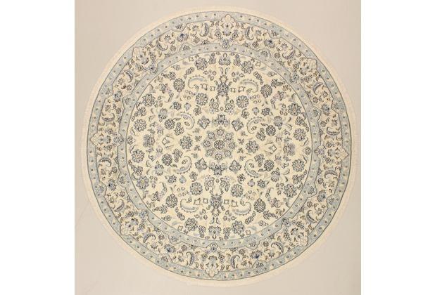 Oriental Collection Nain 9Sherk beige 75996 Orient-Teppich, 200 x 200 cm