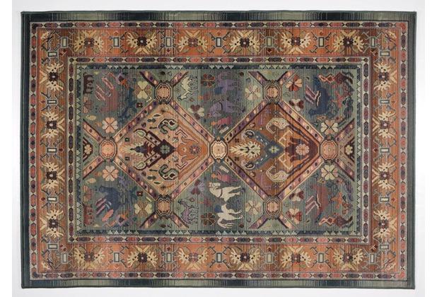 Oriental Collection Teppich Gabiro 13 green 68cm x 135cm