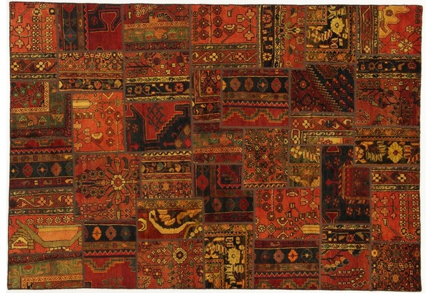 Oriental Collection Patchwork Persia 173 x 248 cm mehrfarbig