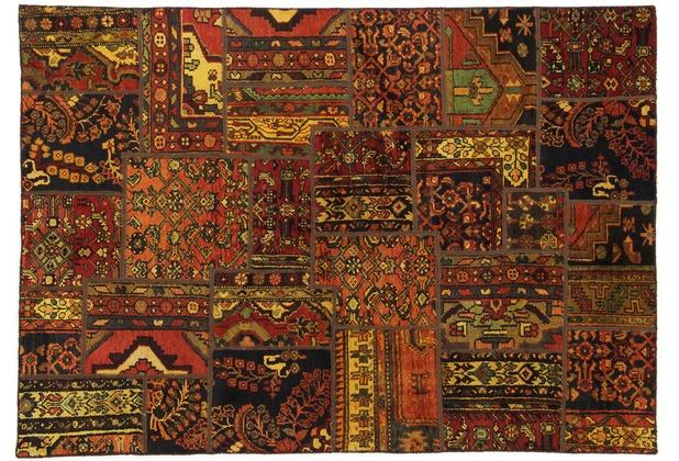 Oriental Collection Patchwork Persia 143 x 205 cm stark gemustert