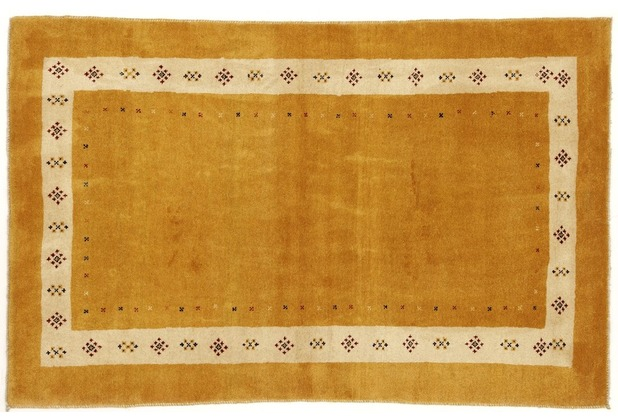 Oriental Collection Gabbeh-Teppich Rissbaft 105 x 165 cm - beige