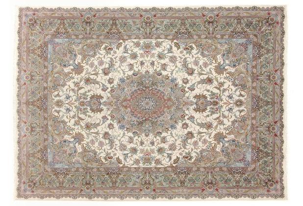 Oriental Collection Täbriz Teppich 70 radj auf Seide 150 x 210 cm