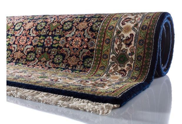 Oriental Collection Teppich Kanpur Herati dunkelblau 60 cm x 90 cm