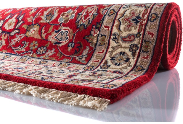 Oriental Collection Isfahan Teppich Varanasi rot 40 cm x 60 cm
