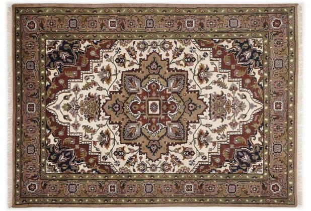 Oriental Collection Heriz Teppich Imperial cream / brown 70cm x 140cm