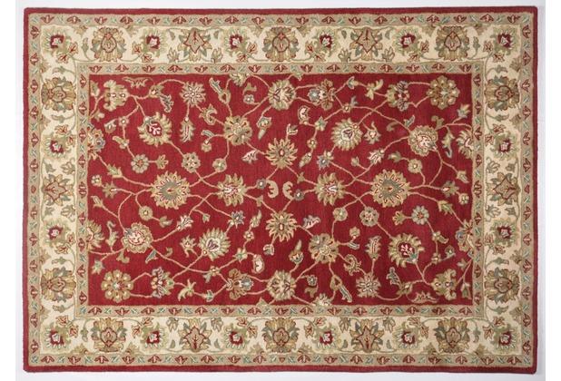 Oriental Collection Ziegler Teppich Royal Ziegler 503 red / cream 60cm x 90cm