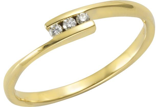 Orolino Ring 585/- Gelbgold Brillant  11551 50 (15,9)