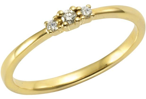 Orolino Ring 585/- Gelbgold Brillant  11555 50 (15,9)