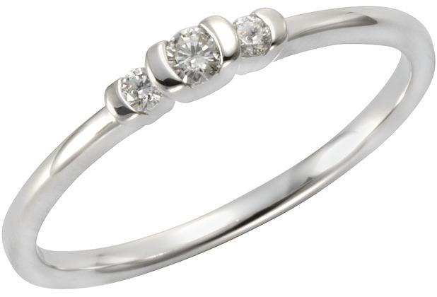 Orolino Ring 585/- Weißgold Brillant  11557 50 (15,9)