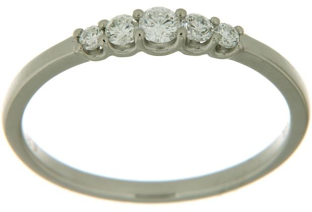 Orolino Ring 585/- Weißgold Brillant  6267 56 (17,8)