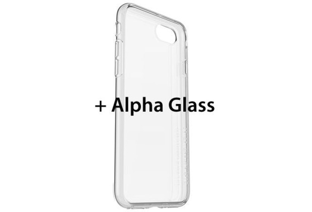 OtterBox Clearly Protected Skin inkl. Alpha Glass, iPhone 7