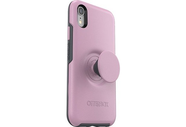 OtterBox Otter + Pop Symmetry Apple iPhone XR - Mauveolous - pink, inkl. Pop Socket & Pop Grip