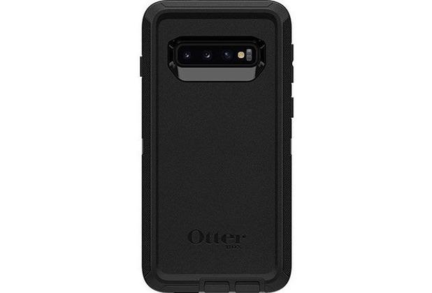 OtterBox Screenless Edition - backcase - Polycarbonat, Kunstfaser - Schwarz - für Samsung Galaxy S10